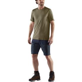 Fjällräven Abisko T-shirt Laine Homme, light olive